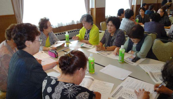 音更町で健康づくりリーダー養成講習会を開催しました(7月9・10日)